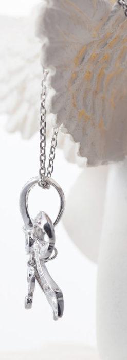ダイヤモンドとプラチナのペンダント -よみがえる伝承の職人技と造形美-A0302-3
