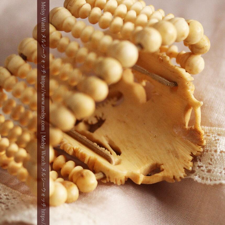 透かし彫りのアンティークブレスレット 【19世紀頃】-A0304-12