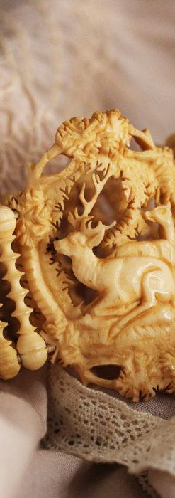 透かし彫りのアンティークブレスレット 【19世紀頃】-A0304-3