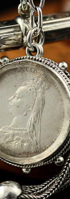 懐中時計チェーン-C0290-1