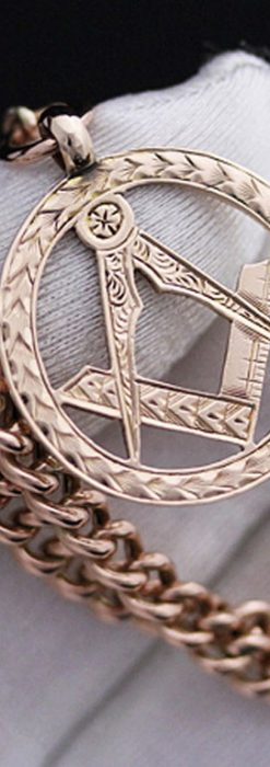 懐中時計チェーン-C0368-2
