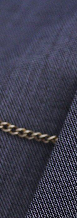 飾りボタンアンティーク懐中チェーン-C0410-2