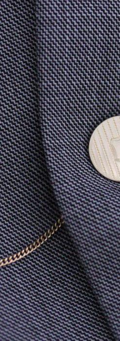 飾りボタンアンティーク懐中チェーン-C0411-2
