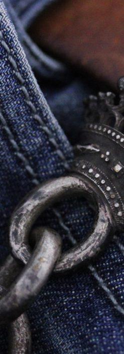 アンティーク懐中時計チェーン-C0413-1