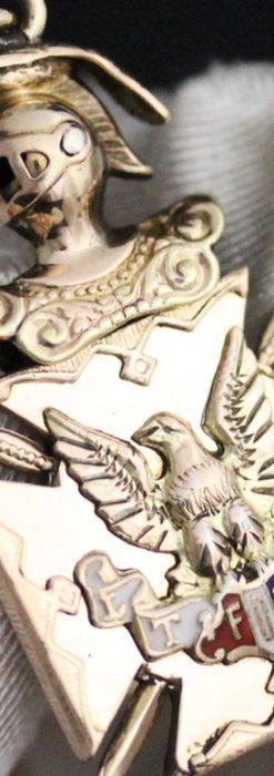 アンティーク懐中時計チェーン-C0425-1