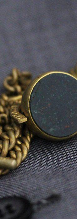 アンティーク懐中時計チェーン-C0427-2