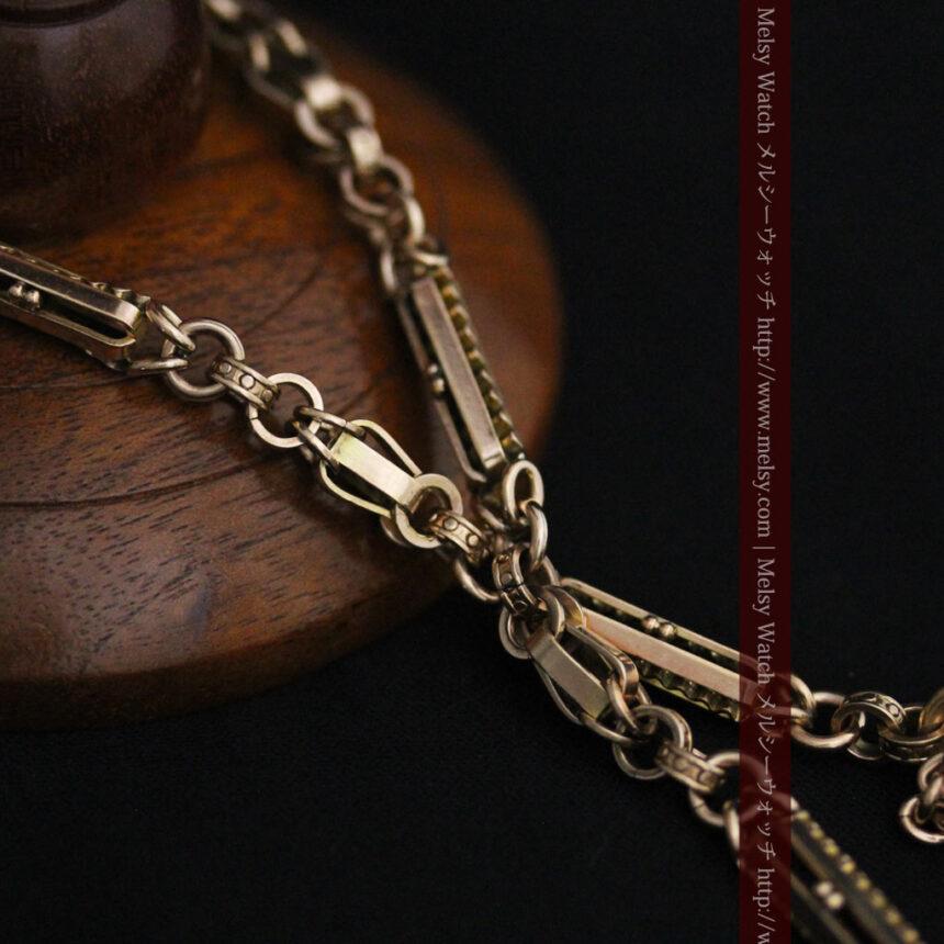 アンティーク懐中時計チェーン-C0441-10