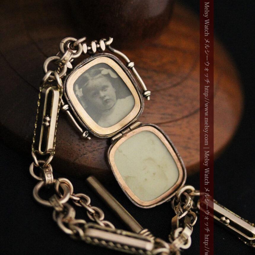 アンティーク懐中時計チェーン-C0441-11
