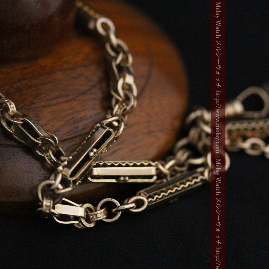 アンティーク懐中時計チェーン-C0441-12