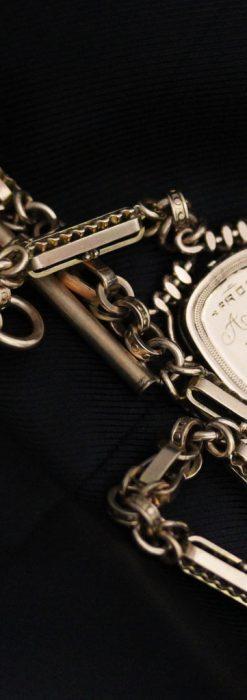 アンティーク懐中時計チェーン-C0441-13