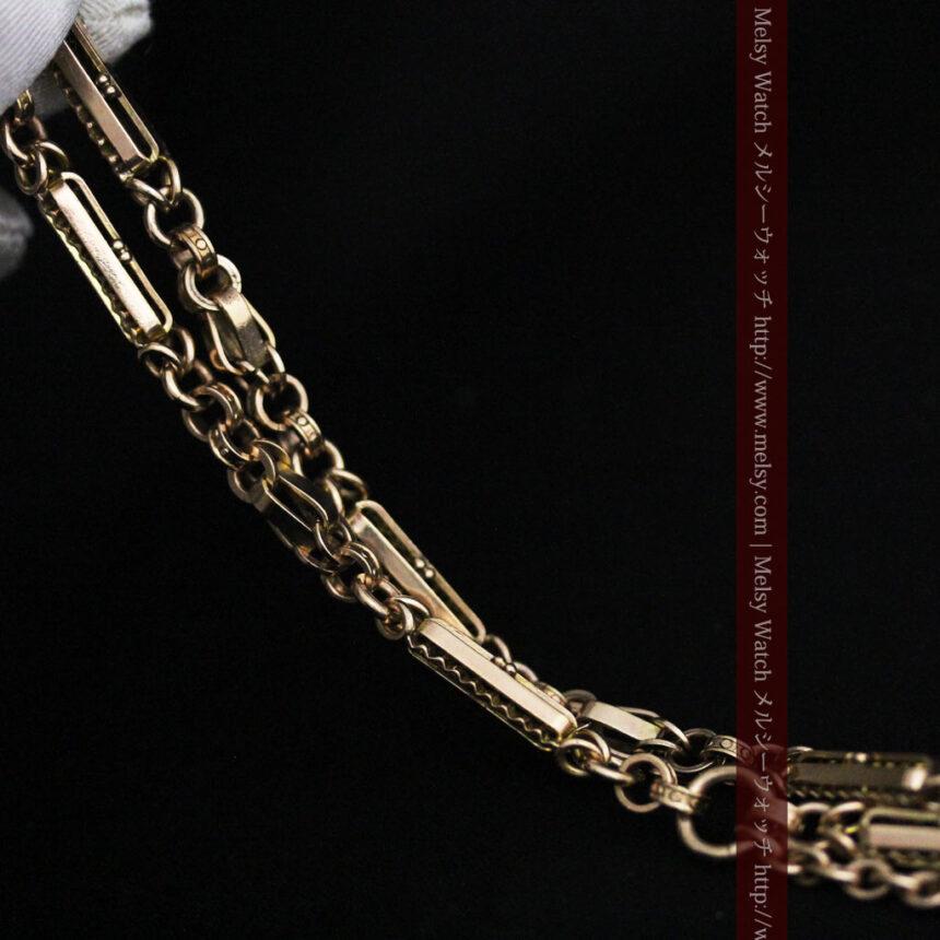 アンティーク懐中時計チェーン-C0441-9