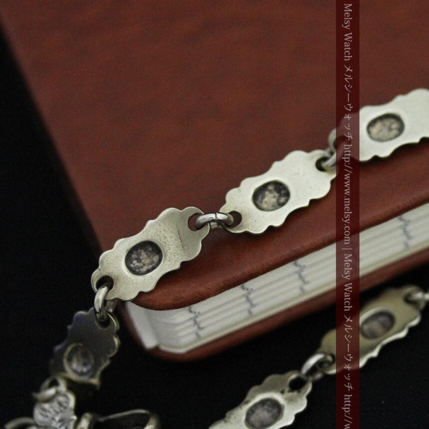 アンティーク懐中時計チェーン-C0443-13