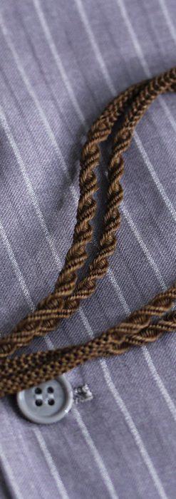 髪の毛で編んだ懐中時計用アンティーク紐-C0446-1