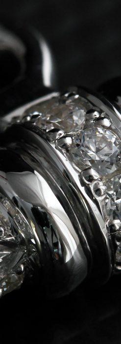 懐中時計チェーン用T字バー・金無垢ダイヤモンド-C0451-10