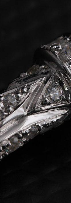 懐中時計チェーン用T字バー・金無垢ダイヤモンド-C0451-12