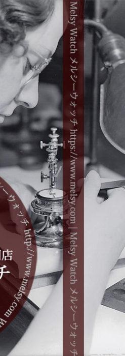 ハミルトンの時計工場の製造風景 【1936年頃】-I4091