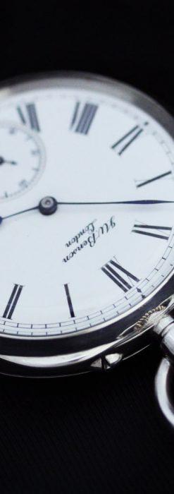 ベンソン&ロンジンのアンティーク懐中時計-P2064-13