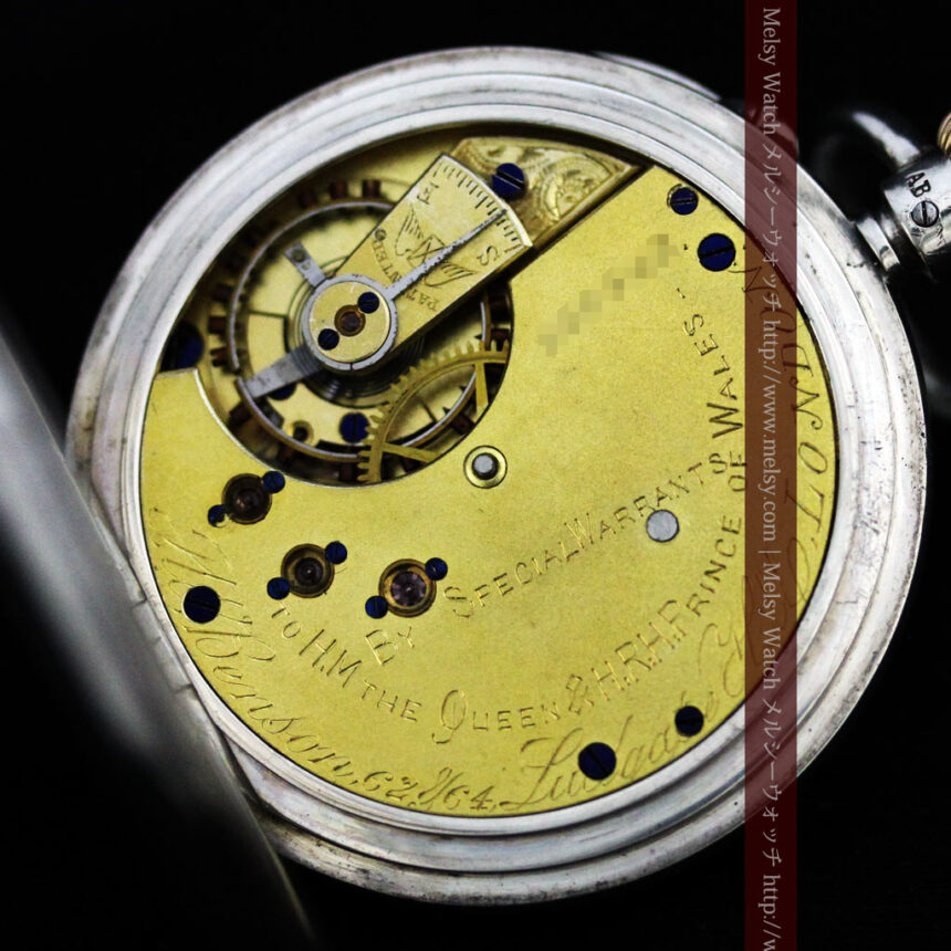 ベンソン&ロンジンのアンティーク懐中時計-P2064-24