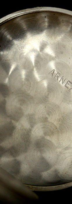 ヘブドマスのアンティーク8日巻き懐中時計-P2077-13