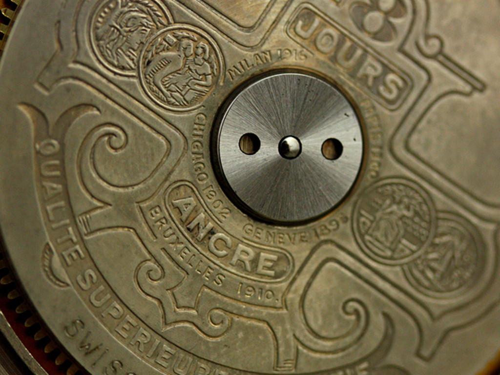ヘブドマスのアンティーク8日巻き懐中時計-P2077-5