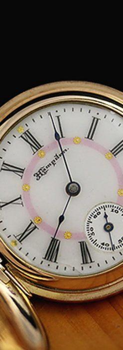 ハンプデン懐中時計-P2082-1