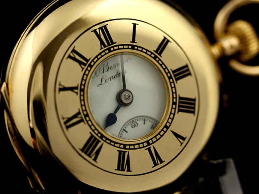 ベンソン懐中時計-P2089-1