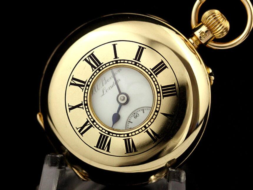 ベンソン懐中時計-P2089-5