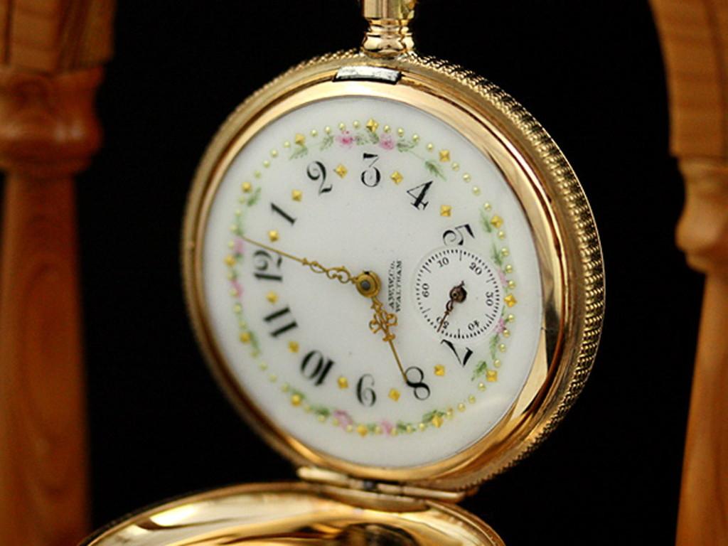 ウォルサムのアンティーク懐中時計-P2100-2