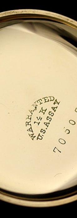 エルジンのアンティーク懐中時計-P2113-14