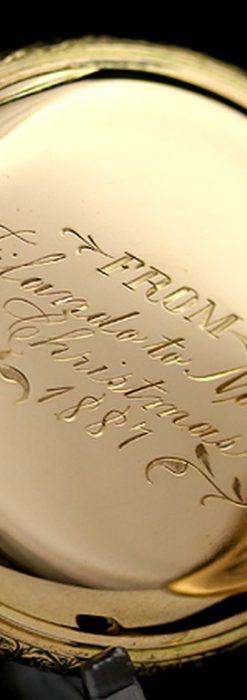 エルジンのアンティーク懐中時計-P2113-16