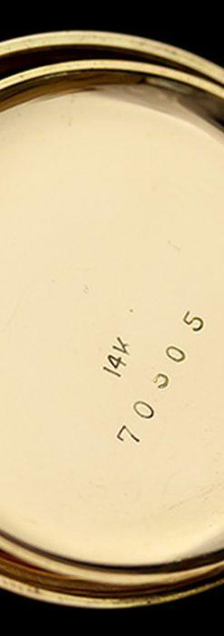 エルジンのアンティーク懐中時計-P2113-17