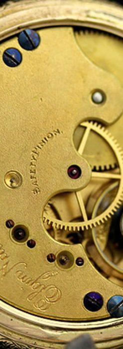 エルジンのアンティーク懐中時計-P2113-18