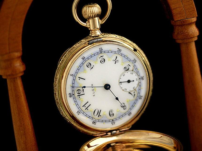 エルジンのアンティーク懐中時計-P2113-2