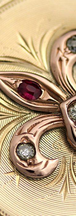 エルジンのアンティーク懐中時計-P2113-3