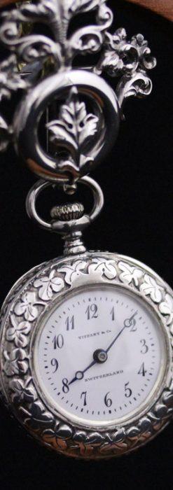 ティファニーのアンティーク懐中時計-P2122-1