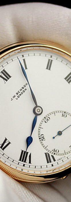 ベンソン懐中時計-P2123-1