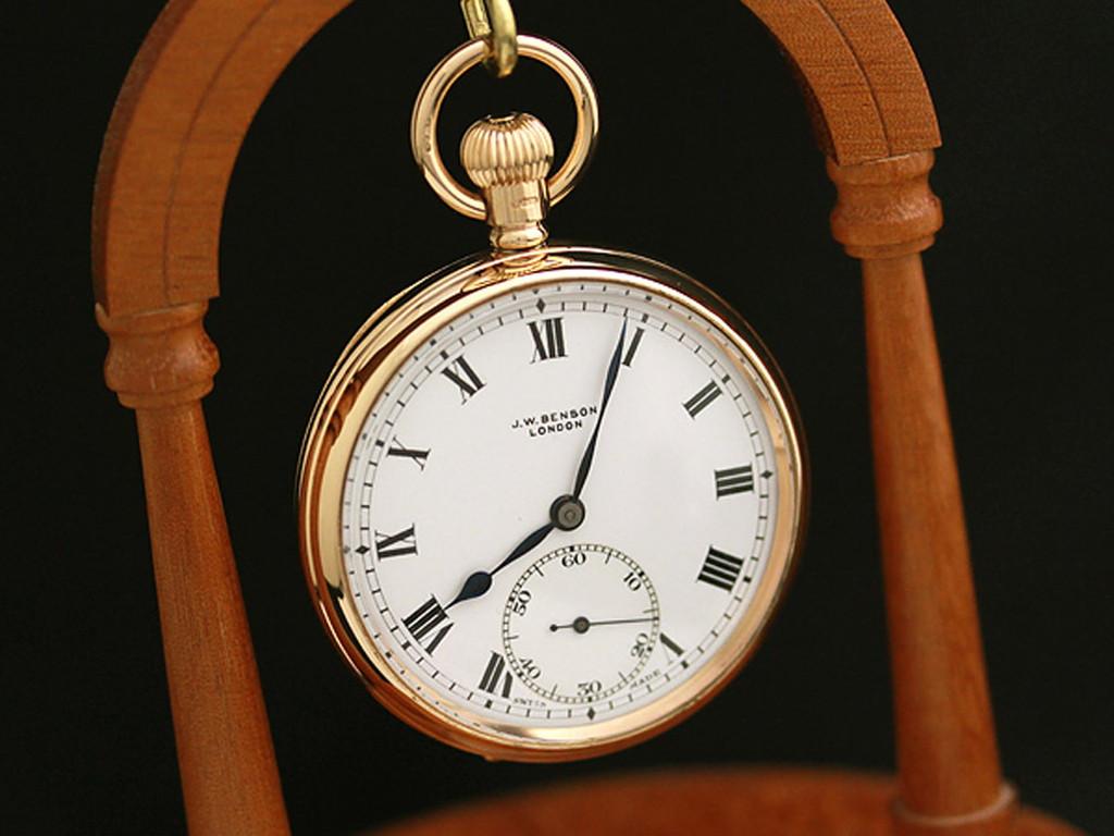 ベンソン懐中時計-P2123-2