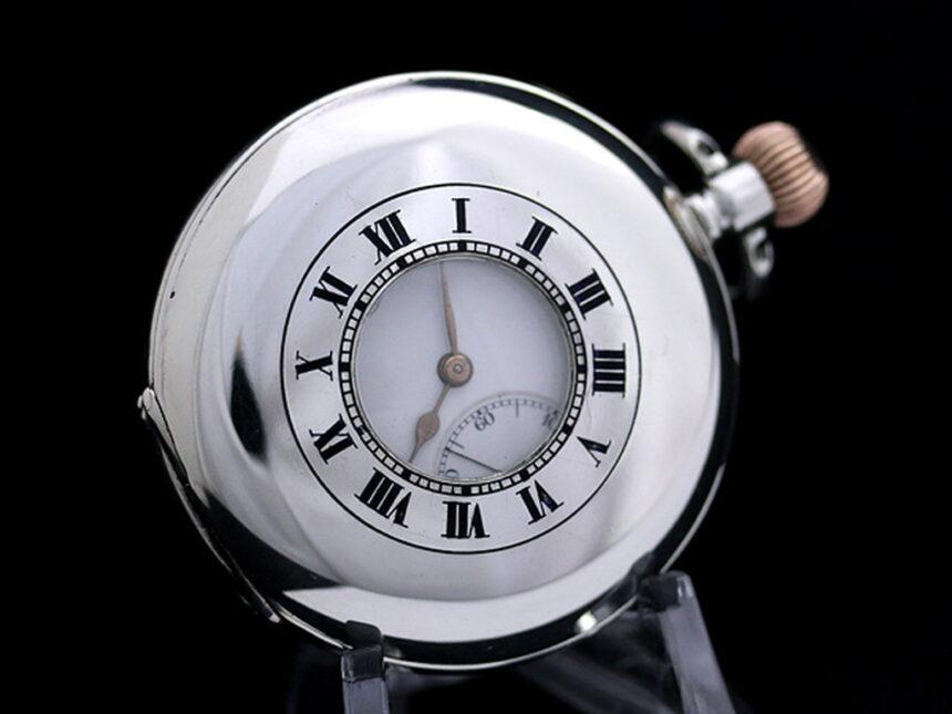ボーム&メルシエ懐中時計-P2128-9