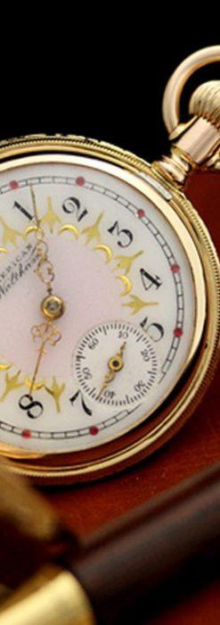 ウォルサムのアンティーク懐中時計-P2130-2