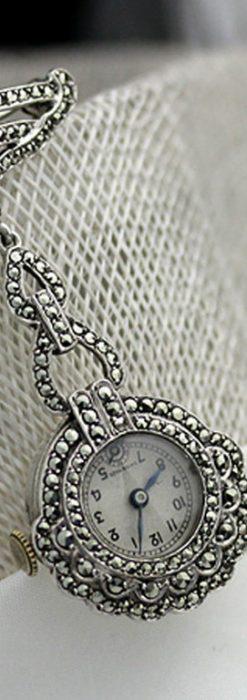 ブローチ型時計-P2131-1