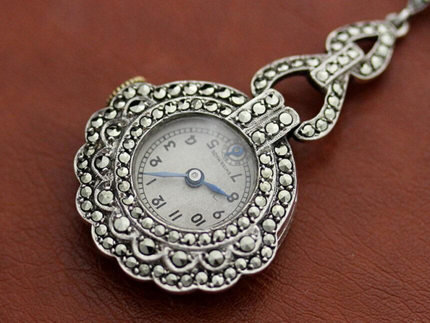 ブローチ型時計-P2131-10