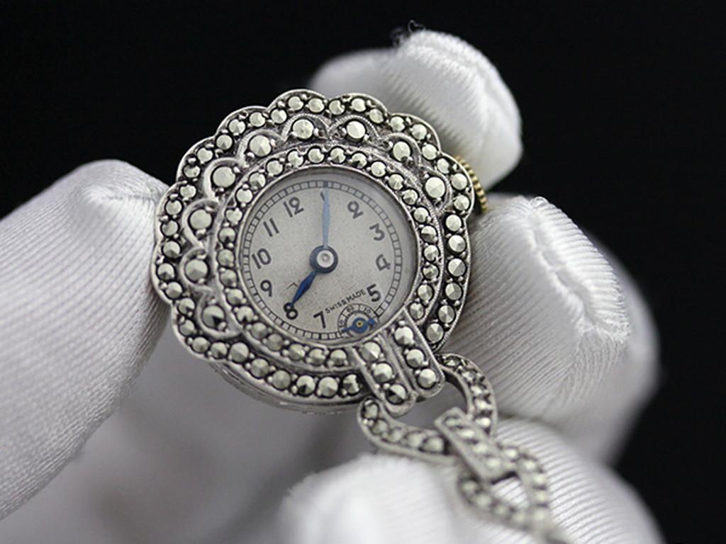 ブローチ型時計-P2131-2