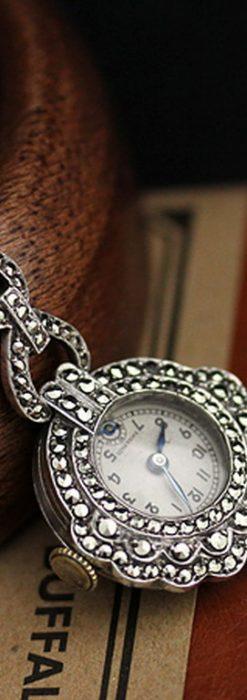 ブローチ型時計-P2131-8