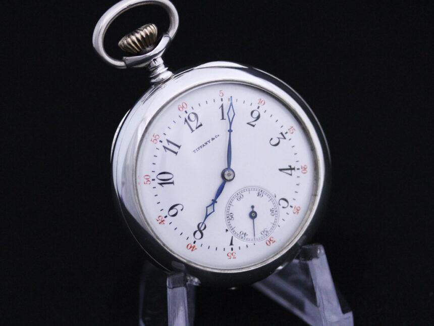 ティファニーのアンティーク懐中時計-P2137-10