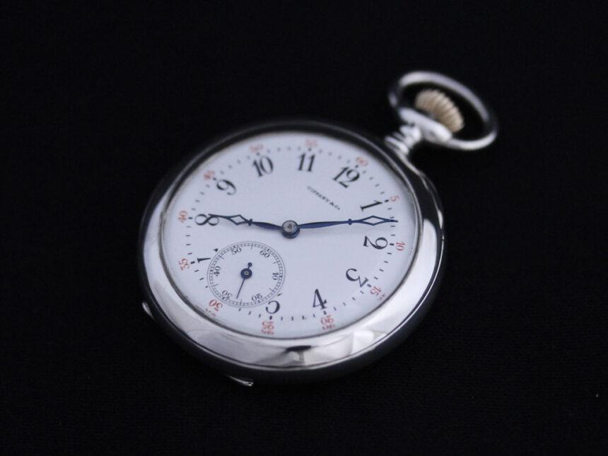 ティファニーのアンティーク懐中時計-P2137-11