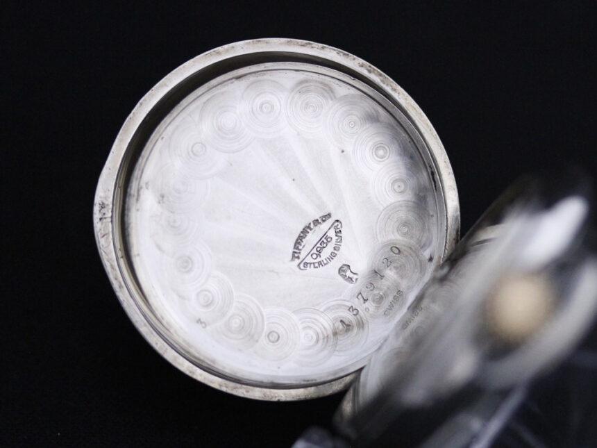 ティファニーのアンティーク懐中時計-P2137-16
