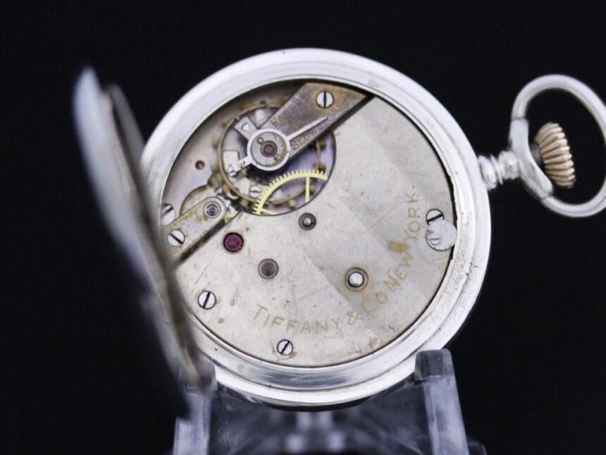 ティファニーのアンティーク懐中時計-P2137-17