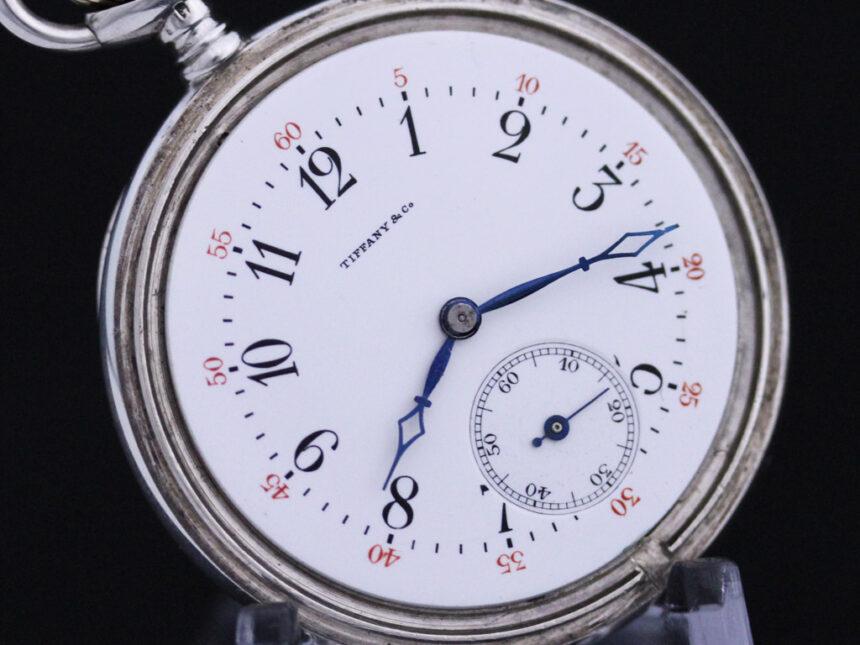 ティファニーのアンティーク懐中時計-P2137-18