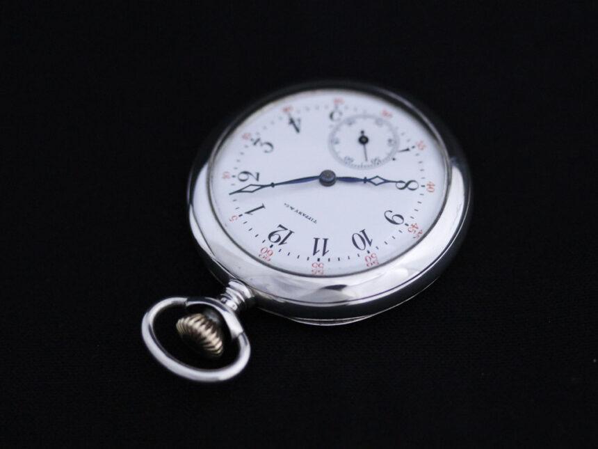 ティファニーのアンティーク懐中時計-P2137-2