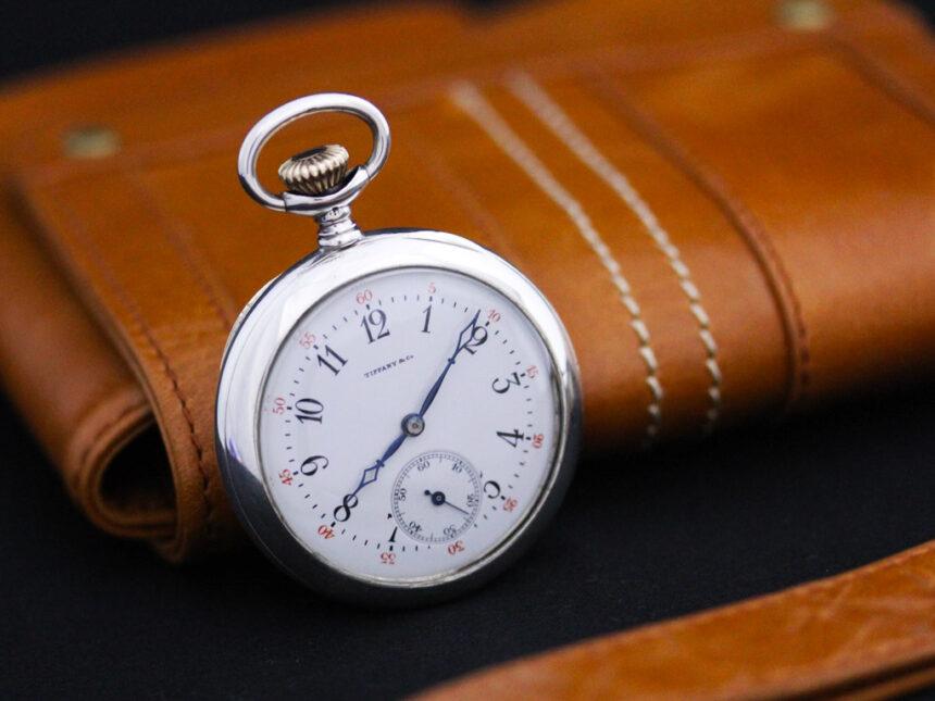 ティファニーのアンティーク懐中時計-P2137-3